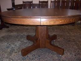 antique round dining table antique round solid wood dining table round designs