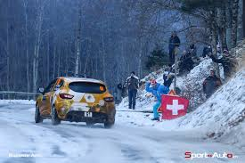 renault rally 2016 strong showing for the renault clio r3ts at the rallye monte carlo