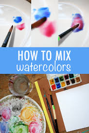 mixing a green palette in watercolors tips u0026 palettes