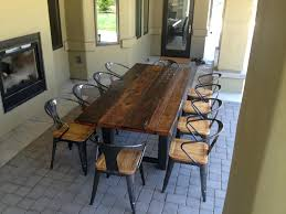 Distressed Dining Room Table Distressed Dining Room Tables Wood Table White Rustic Farmhouse