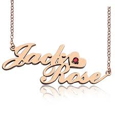 two name necklace gold two row letter carrie style name necklace