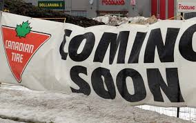 construction on track elmira canadian tire store set to open at