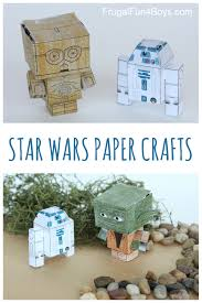 star wars paper crafts to make finger puppets puppet and finger