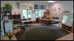 child study and development center kindergarten room views