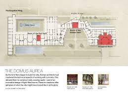 Ancient Roman Villa Floor Plan by Rethinking Nero Graphic Grand Ambition