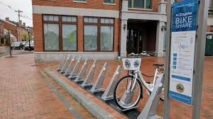Urban Cycling Series Rolls On by Bike Sharing Program Launches In Manchester New Hampshire Public