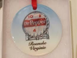 roanoke ornament h c coffee ornament dr pepper ornament