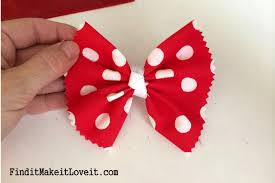 mickey ribbon diy mickey or minnie mouse ears find it make it it