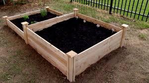 build a raised vegetable bed video diy
