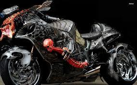 coolest custom hayabusa ever predator bike