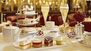 luxury afternoon tea london hotel café royal