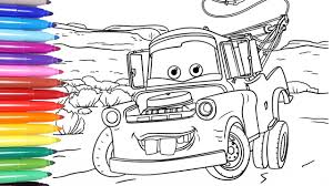 cartoon cars coloring pages disney cars 3 disney cars coloring pages learn colors for kids 1
