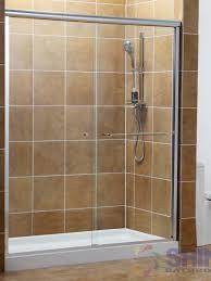 Shower Sliding Door Semi Frameless Bath Shower Sliding Door Shine Bathrooms