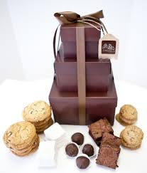 gift towers gourmet gift towers new the hudson cakery