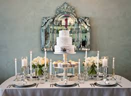 table top decoration ideas chic silver and white winter table top decor ideas junebug weddings