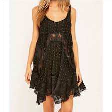 3 off free people other intimately free people black lace slip