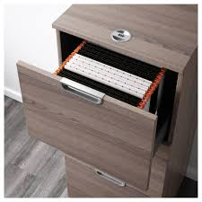 galant file cabinet black brown ikea