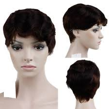 hair products for pixie cut pixie cut mushroom short wig light purple remy straight hair party