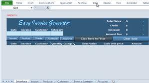 excel vba invoice generator easy invoice generator online pc