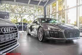 Audi R8 Nardo Grey - the 2016 world performance car a naples speed x bbs exclusive