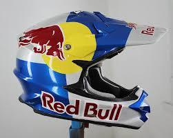 red bull motocross helmet for sale shoei red bull helmet custom steel flickr