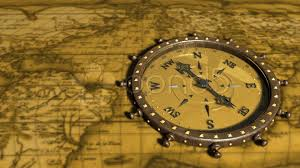 Old Map Background Background With Old Map And Compass Compass 01 Hd Clip 732377