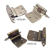 self closing kitchen cabinet hinges cabinet hinges 41973 3 8 inset offset self closing kitchen