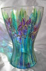 Hand Painted Vase Products Within Our Hand Painted Vases Range At Noo Noo Art