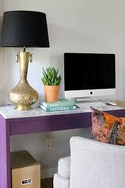 diy marble slab desk claire brody designs