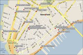 map of new york and manhattan map of nyc attractions lower manhattan new york city attractions