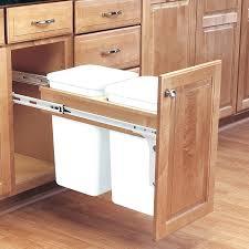 simplehuman in cabinet trash can trash bin under sink kitchen kitchen cabinet shelf replacement rev a