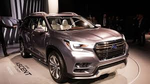 subaru concept cars subuaru going to new heights with the ascent suv concept roadshow