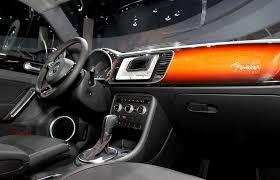 beetle volkswagen interior 2012 volkswagen beetle fender concept interior eurocar news