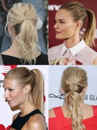 pictures on easy ponytails curly hairstyles
