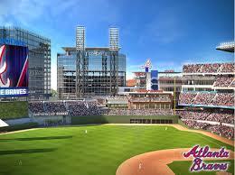 Atlanta Braves Parking Map by Renderings Of Suntrust Park The Future Stadium Of Atlanta Braves