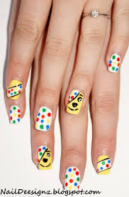 15 best pudsey bear nail art designs u0026 tutorial video gallery by