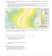 Africa On The Map by The Map Below Shows The Ages Of Seafloor Basalt T Chegg Com