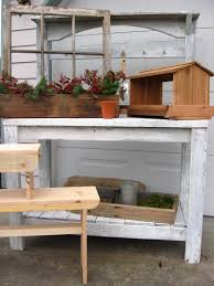 Shabby Chic Bench Shabby Chic Potting Bench For Sale Dream Garden Woodworks