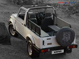 indian army jeep maruti gypsy features specs review picture gallery mileage