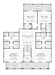 one floor house plans prissy ideas 13 one story house plans 2 master suites 5 bedroom