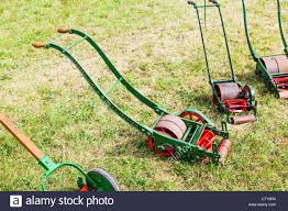 old fashioned lawnmower stock photos u0026 old fashioned lawnmower