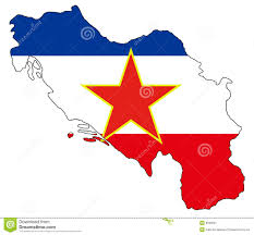 Yugoslavia Map Ex Yugoslavia Map And Flag Stock Vector Image Of Information