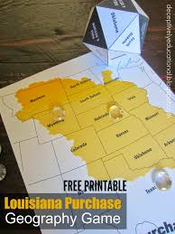 Louisiana Purchase Map by Relentlessly Fun Deceptively Educational Louisiana Purchase