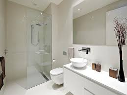 Pictures Of Modern Bathrooms Awesome White Bathrooms Pertaining To Modern White Bathroom Ideas