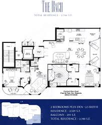 sonata beach club floor plan