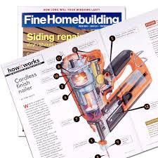 Fine Homebuilding Illustration Process John Hartman Illustration