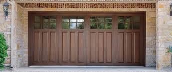 Garage Door Designs Signature Carriage Wood Garage Doors