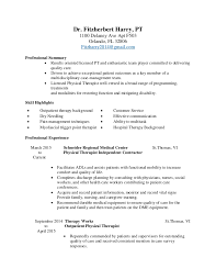 Sample Physical Therapist Assistant Resume by Physical Therapist Job Description Sample Physical The Job