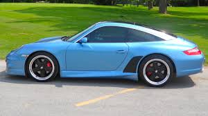 blue porsche 911 cpo 2008 porsche 911 carrera 4 paint to sample vintage iris blue