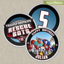 printable transformers birthday banner transformers rescue bots free printable kit transformers